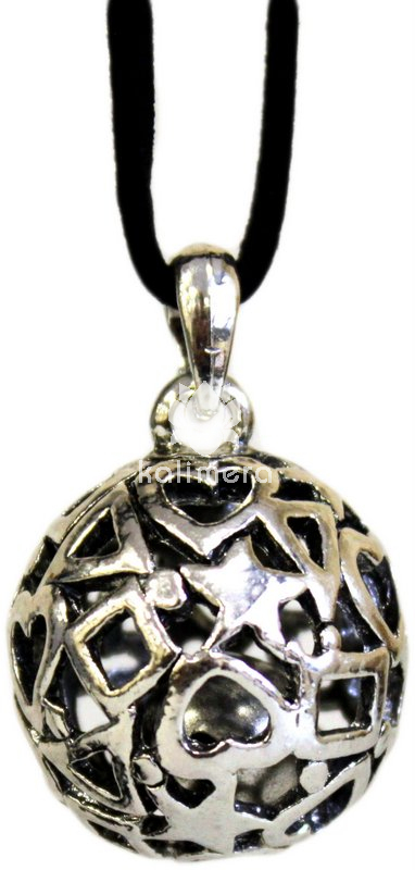 Call Angels Pendant Love Angel Hearts and Stars-0