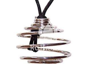 Smykkebur spiral sølv-0