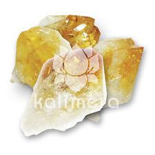 Citrin rå enkel krystall-553