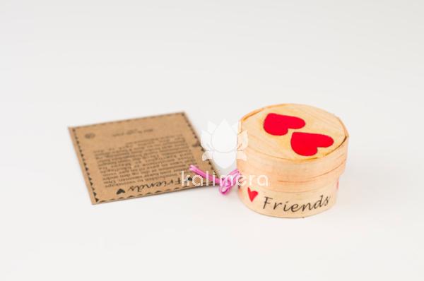 Friends amuletter med hjertemotiv-0