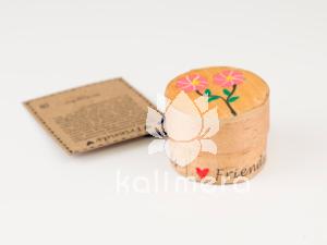 Friends amuletter med rosa blomstermotiv-0