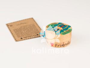 Friends amuletter med med sommerfuglmotiv-0